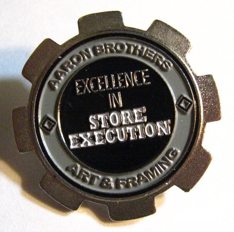 Aaron Brothers Lapel Pin - Art Store Artist Crafter Crafts Framing ...