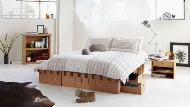 Bed Van Karton : Bed van karton paperdic huis en wonen muebles de