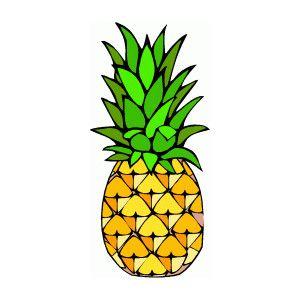 Pineapple Clip Art #4884 | Piña animada, Dibujos, Cartel ...