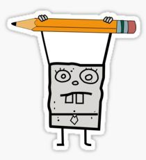 Spongebob Stickers Doodles Sketches And Drawings - Spongebob decals for cars