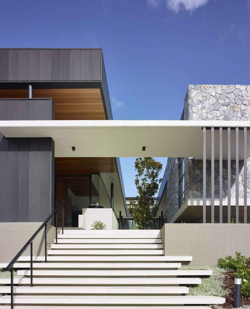 Gallery of c2 house ellivo architects 7 ingresos for Casa moderna 7x7