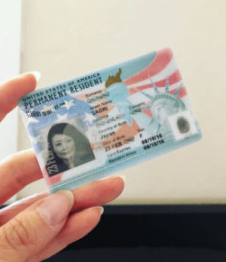 pindocumentations online on id cards  green cards