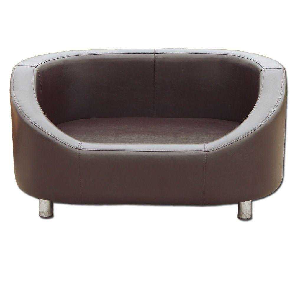 Sofa rund oval  Hunde-Sofa-Jacky-Farbe-braun-Passend-fuer-kleine-bis-mittelgrosse ...