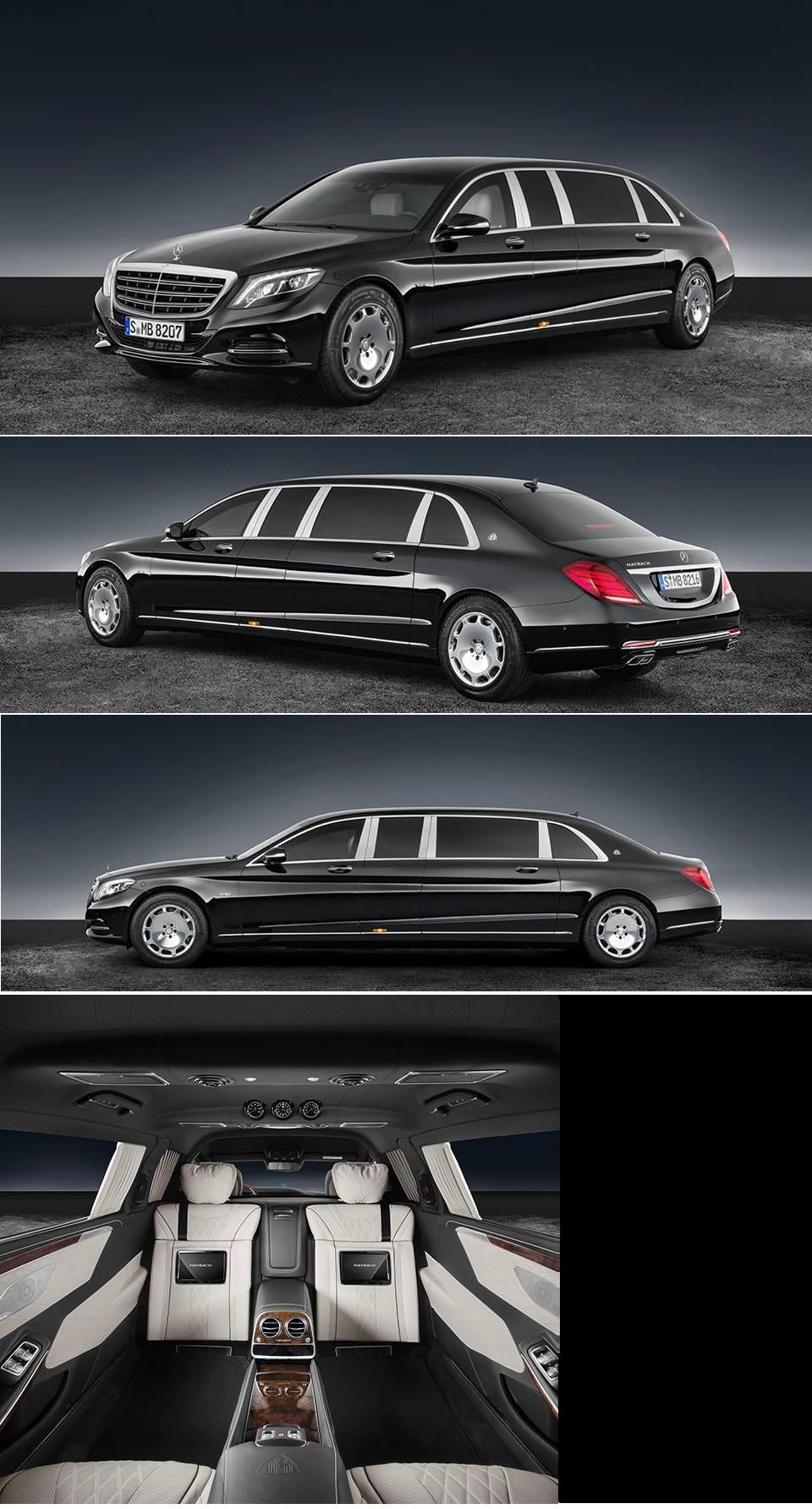 Mercedes Maybach S 600 Pullman Guard Automobile High End Luxury