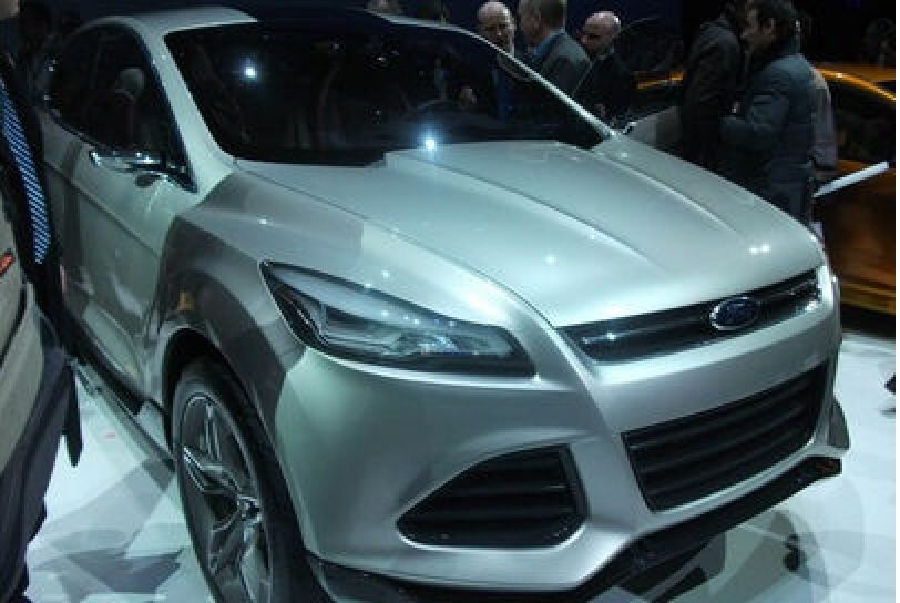 The first look at the new Ford Kuga design shown at the