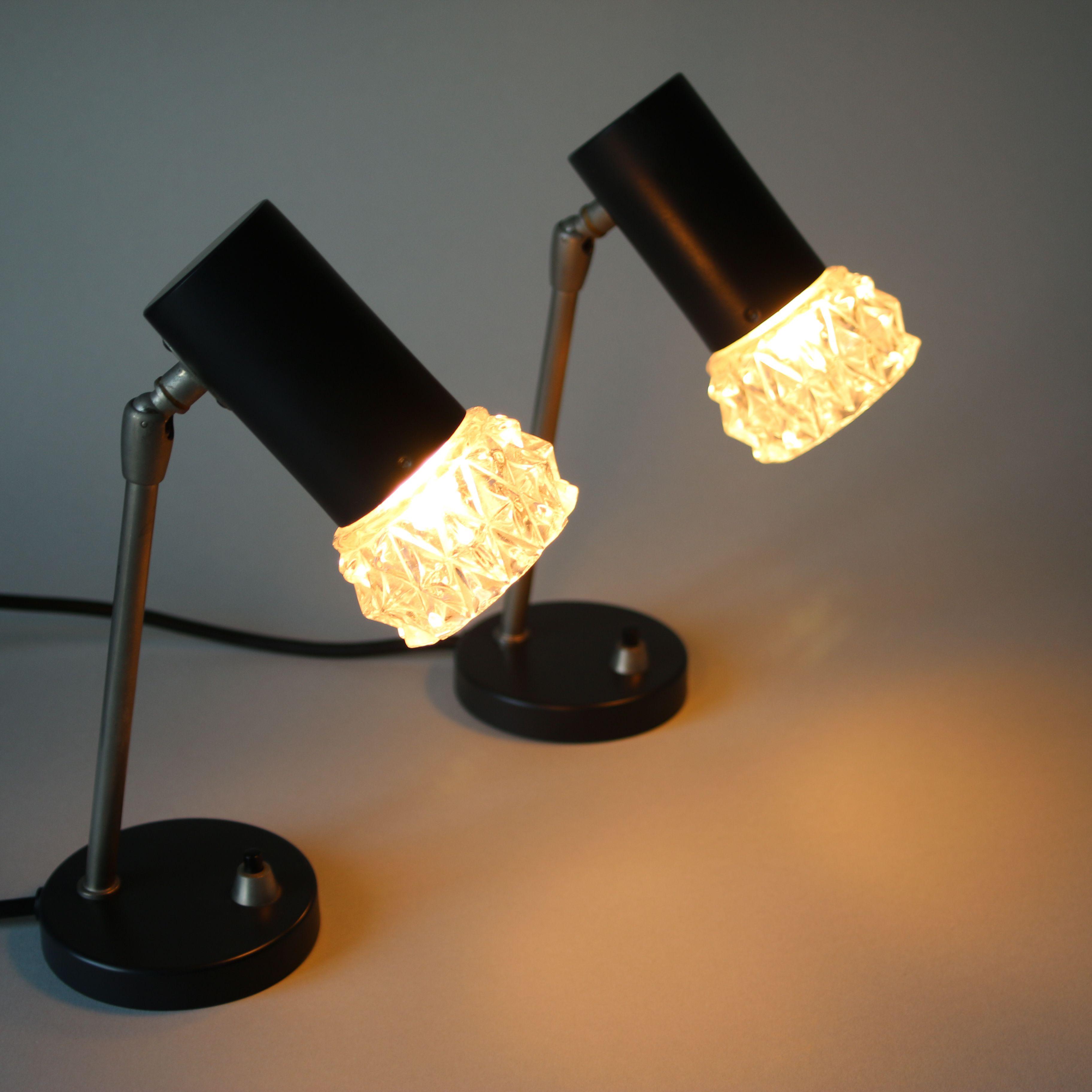 Vintage Lamp White Desk Lamps Ddr Design Veb Narva 70s Etsy Modern Lamp Metal Lamp Lamp