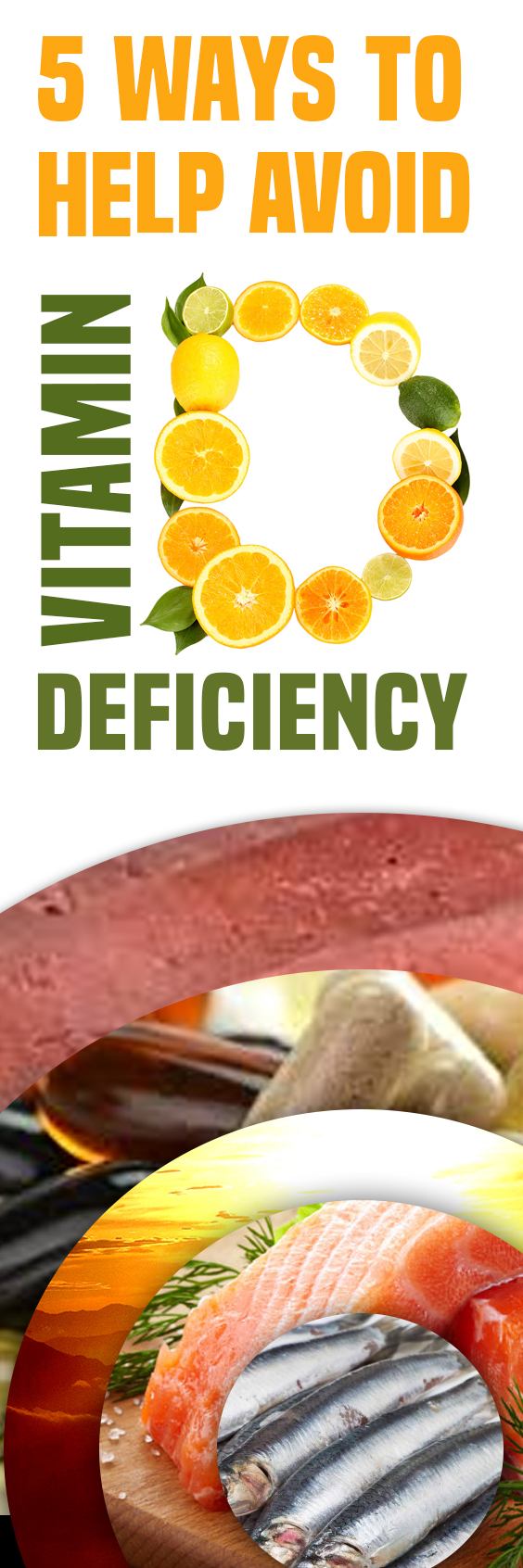 5 Ways To Help Avoid Vitamin D Deficiency (With images