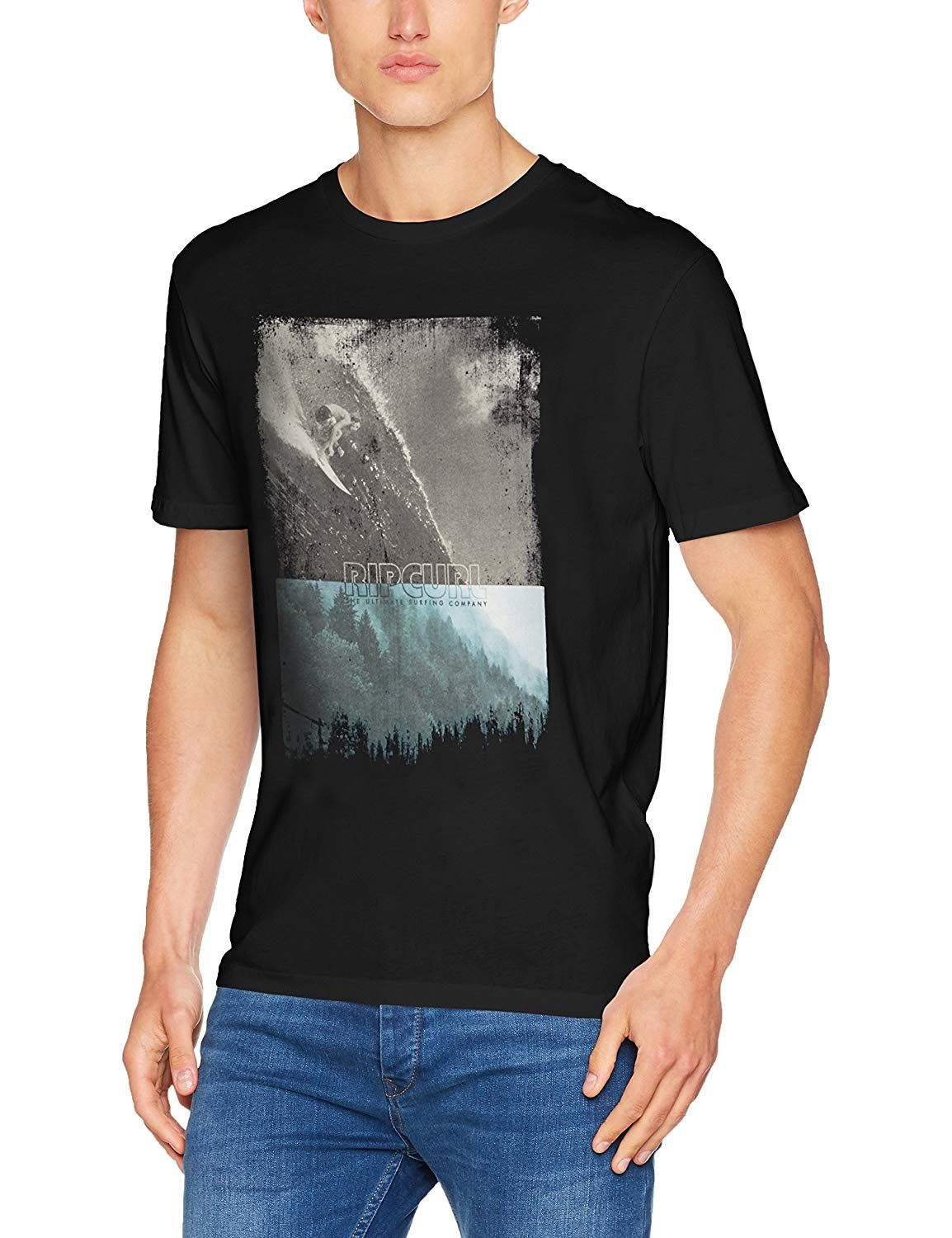 78602cef7f5d Surf Clothes · Surfer Boy Style · RIP CURL MEN'S GDAY BDAY SHORT SLEEVE T- SHIRT ALSO AVAILABLE IN BLACK GOLD/