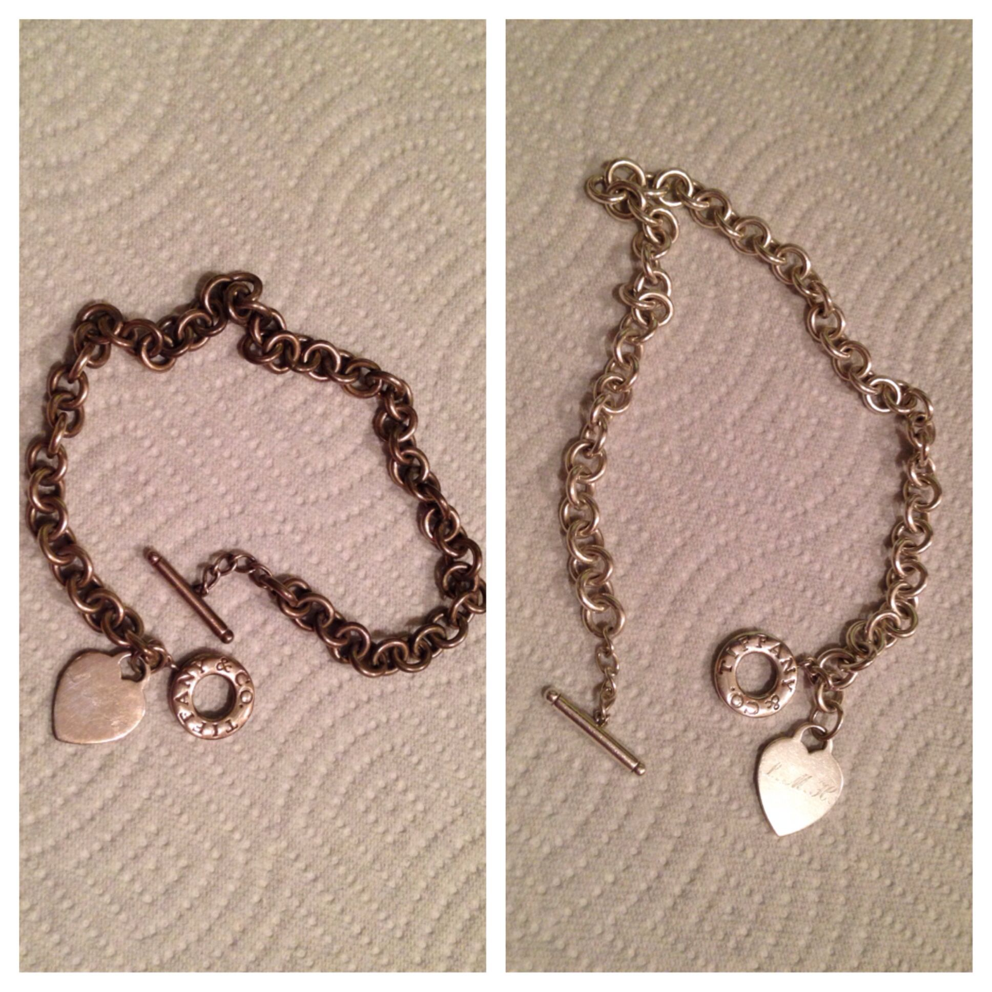 The Easy Home Remedy To Fix Tarnished Silver Worked Perfectly To Bring The Shine Back To My Tiffany Cleaning Jewelry Tiffany Necklace Cleaning Silver Jewelry
