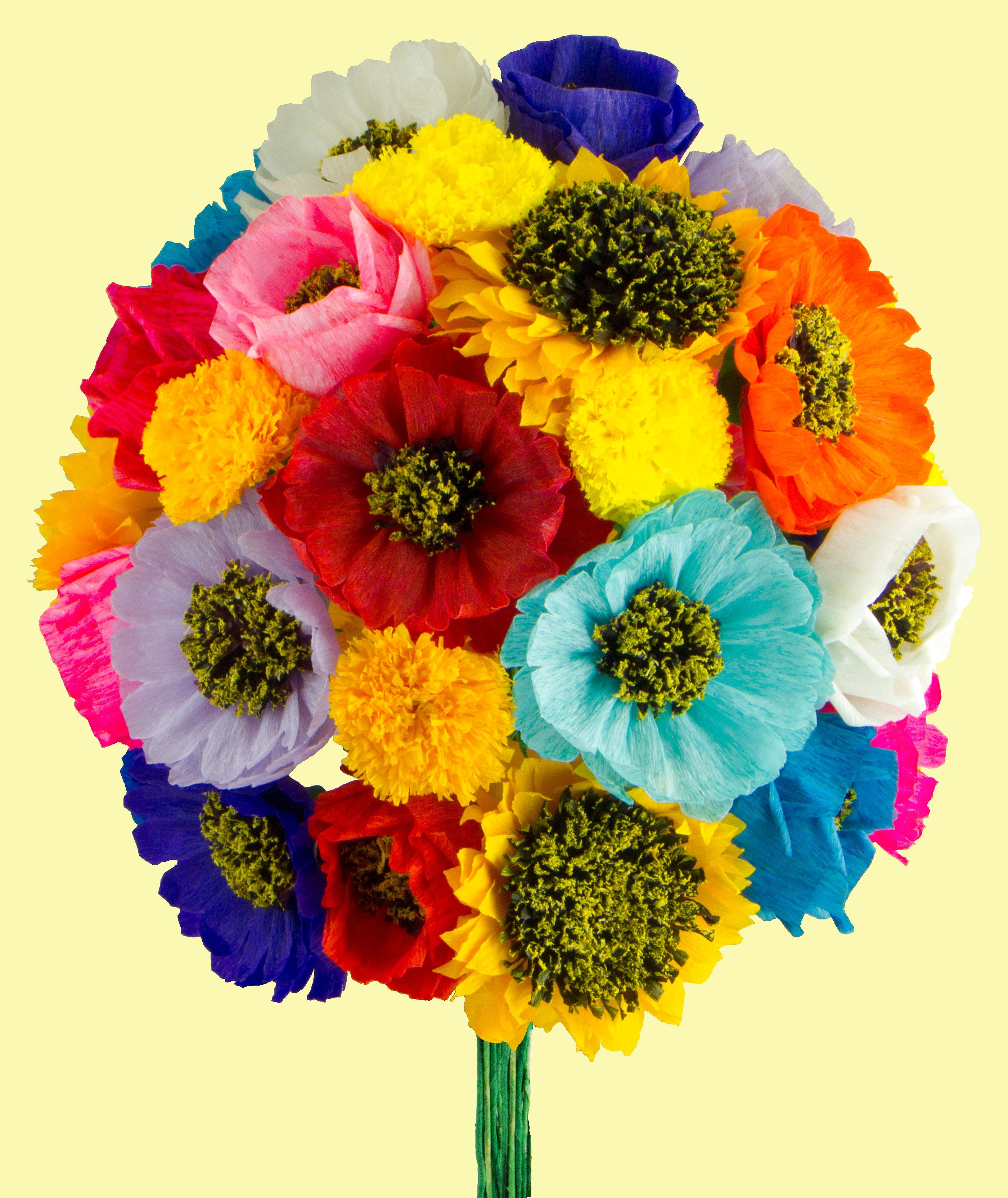 Mexican paper flowers are a very popular craft made to decorate mexican paper flowers are a very popular craft made to decorate churches day izmirmasajfo