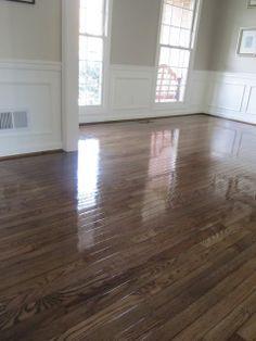 Trending colors to refinish hardwood floors google for Refinishing painted hardwood floors