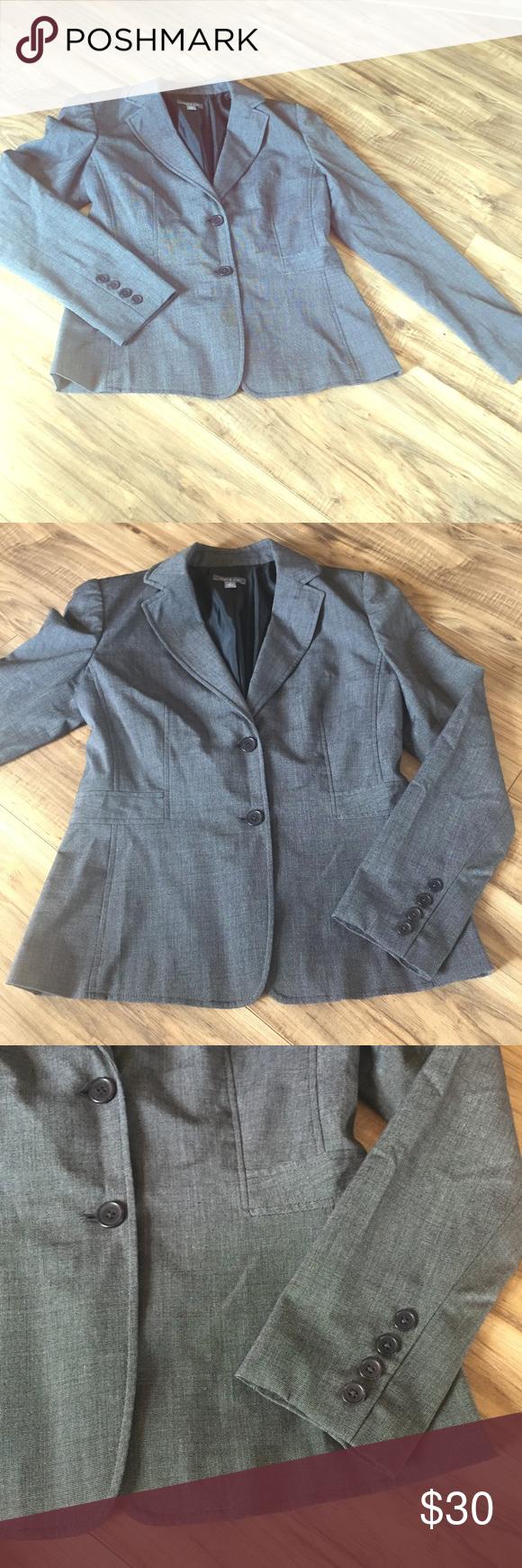 Apt. 9 Gray Stretch Blazer | Coats, Shape and Gray