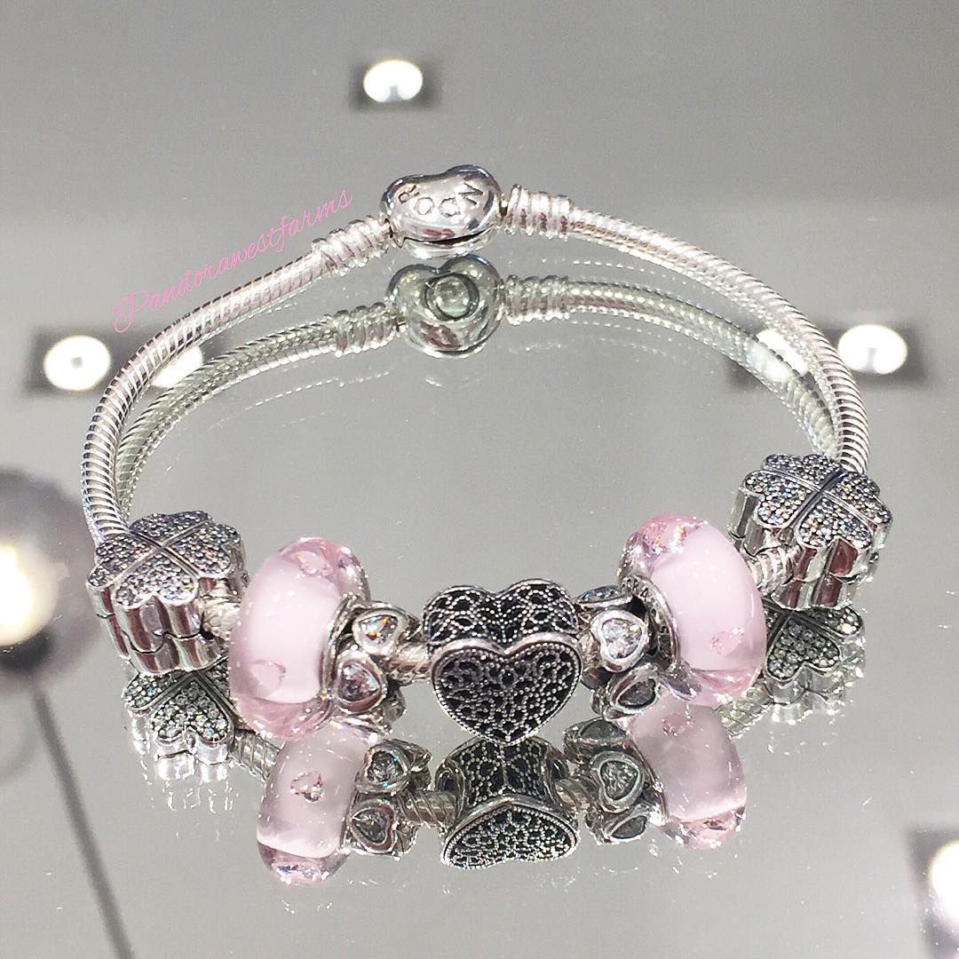 "537858e23 ""The #new, concept store exclusive, Filled with Romance charm is the  perfect addition to any Valentine's Day bracelet. What's on your #Wishlist  from…"""