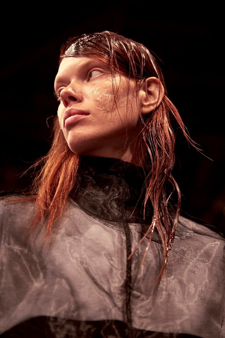 Backstage at Hood By Air SS17
