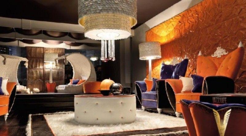 Interior Design Ideas Futuristic Modern Art Deco Livingroom