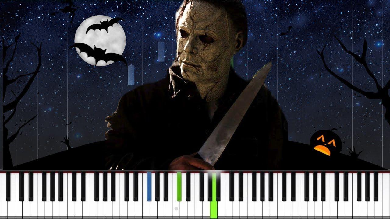 Michael Myers Theme Halloween Easy Piano Tutorial Piano