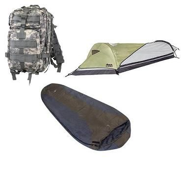 Ready to go backpacker starter kit includes 3 essential gear items for backpack c&ing a backpack sleeping bag and tent  sc 1 st  Pinterest & Low Cost Backpack Starter Kit | Camping | Pinterest | Starter kit ...