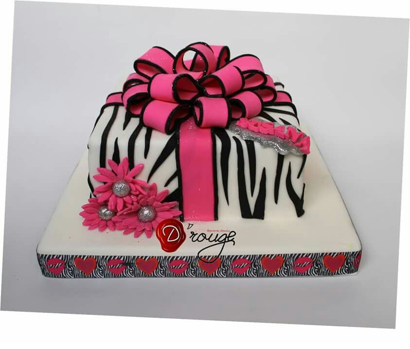Torta regalo 100 % Comestible.