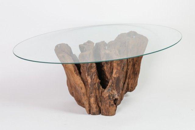 Riviera Wood - Stôl Oval