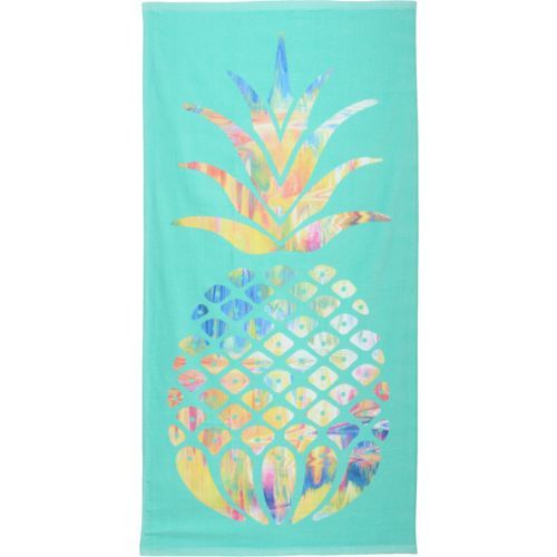 Pineapple Beach Towel From Academy Eventually