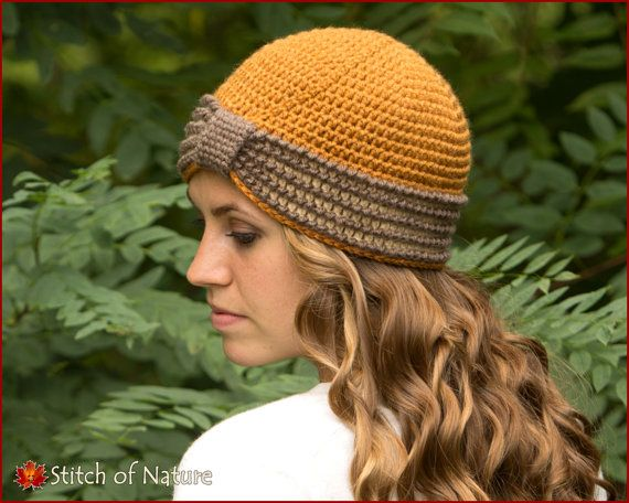 Crochet Pattern The Eleanor Turban Hat 1920s Hat Pattern Baby To