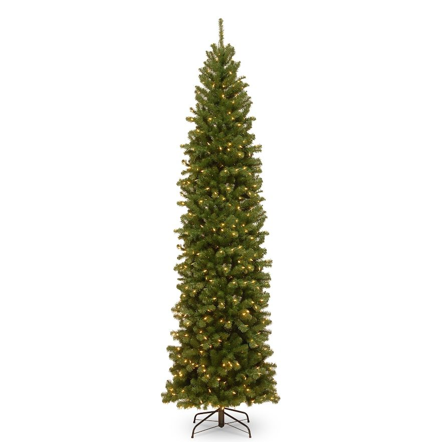 hot sale online 23a56 77025 National Tree Company 10-ft. Pre-Lit North Valley Spruce ...