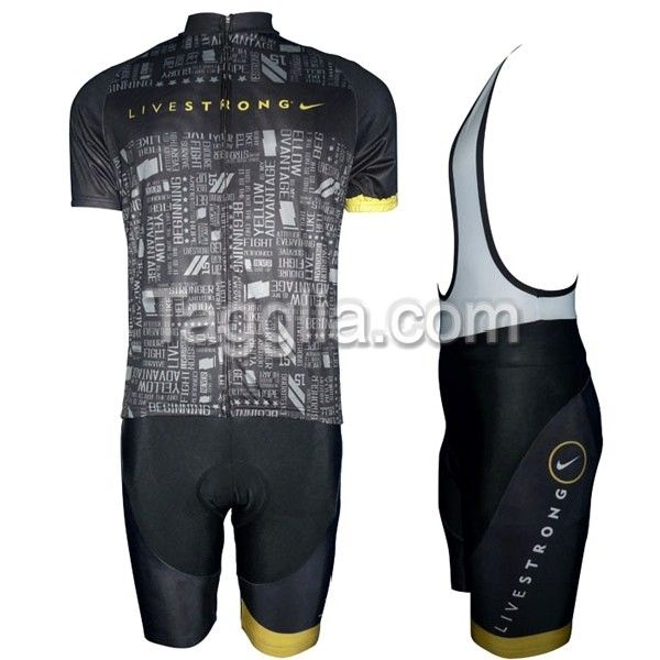 2012 Livestrong Cycling Jersey Bike Shop at Tagglia