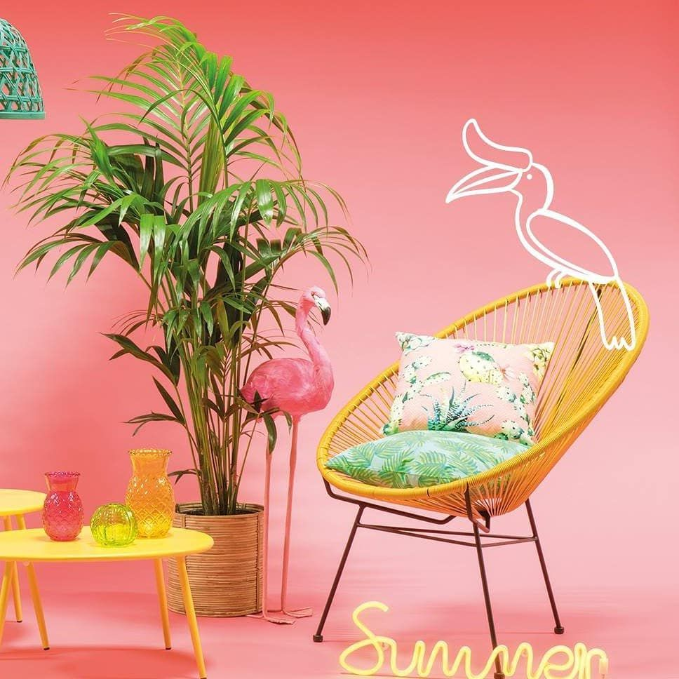 Ready for a sweet tropical crush? . Vous allez flasher sur la deco ...