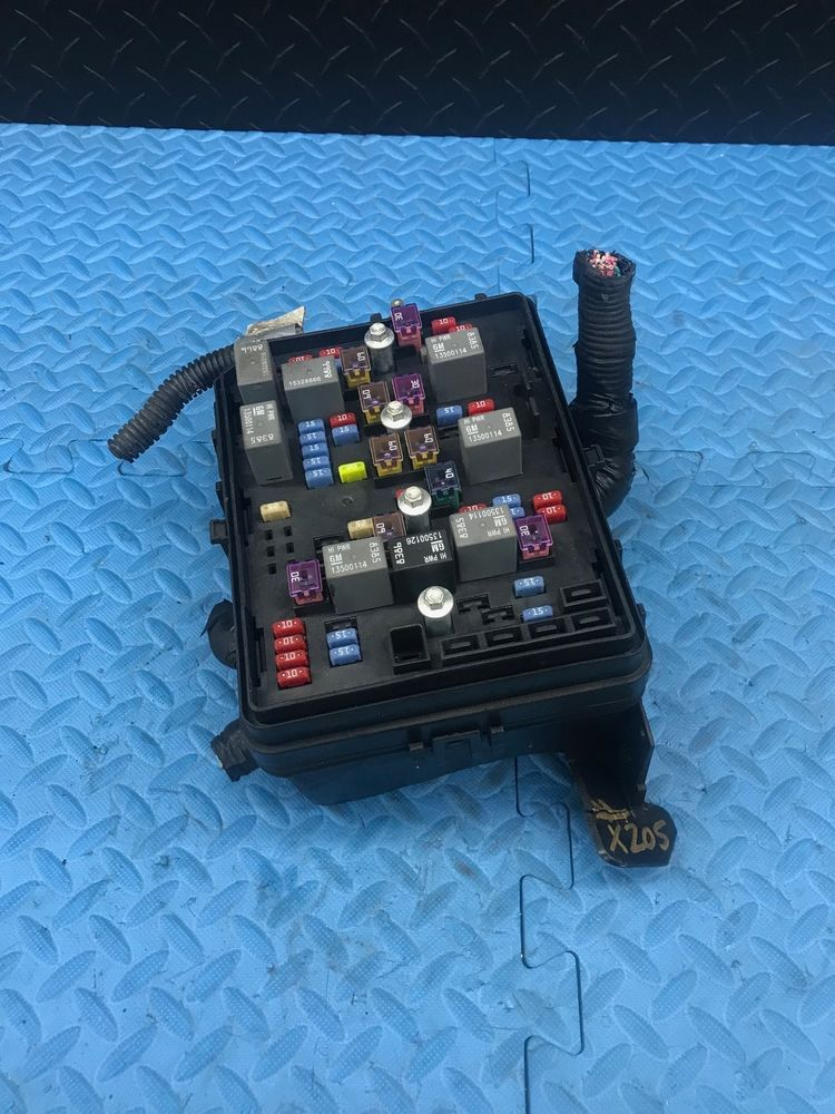 Chevrolet Impala Main Wire Wiring Junction Fuse Block Relay Panel ...