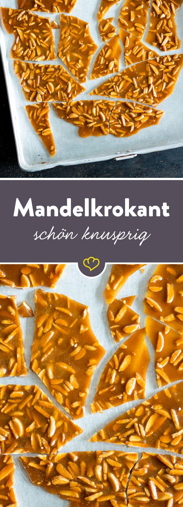 Knackige Mandeln umhüllt von einer süßen Zuckermasse. Ein Klassiker, der sich easy-peasy selber machen lässt und in jede Süßigkeitenschublade gehört. #fooddiy