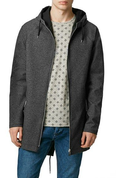 Topman Hooded Fishtail Parka available at #Nordstrom   Boyfriend ...