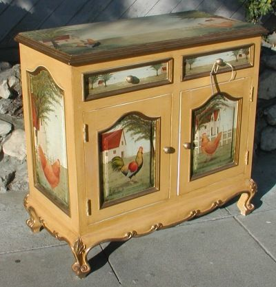Image Detail For  Furniture: A Site Where You Can Find Hand Painted Spanish  Period .