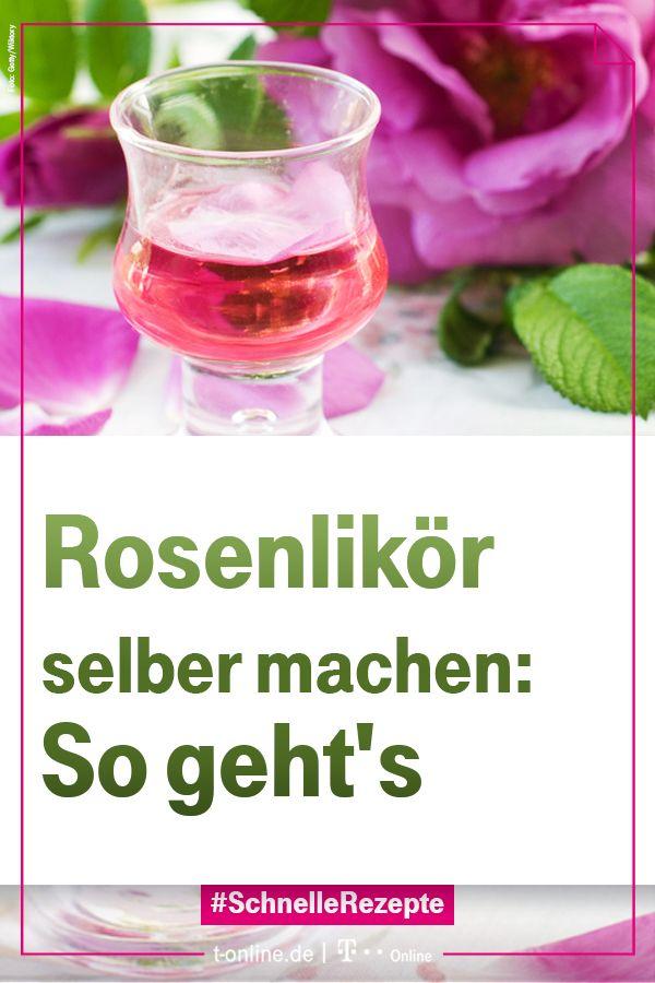 Photo of Rosenlikör selber machen: Schnelle Rezepte