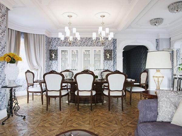 20 Elegant Designs Of Victorian Dining Rooms & Modern Victorian Dining Room - Dining room ideas