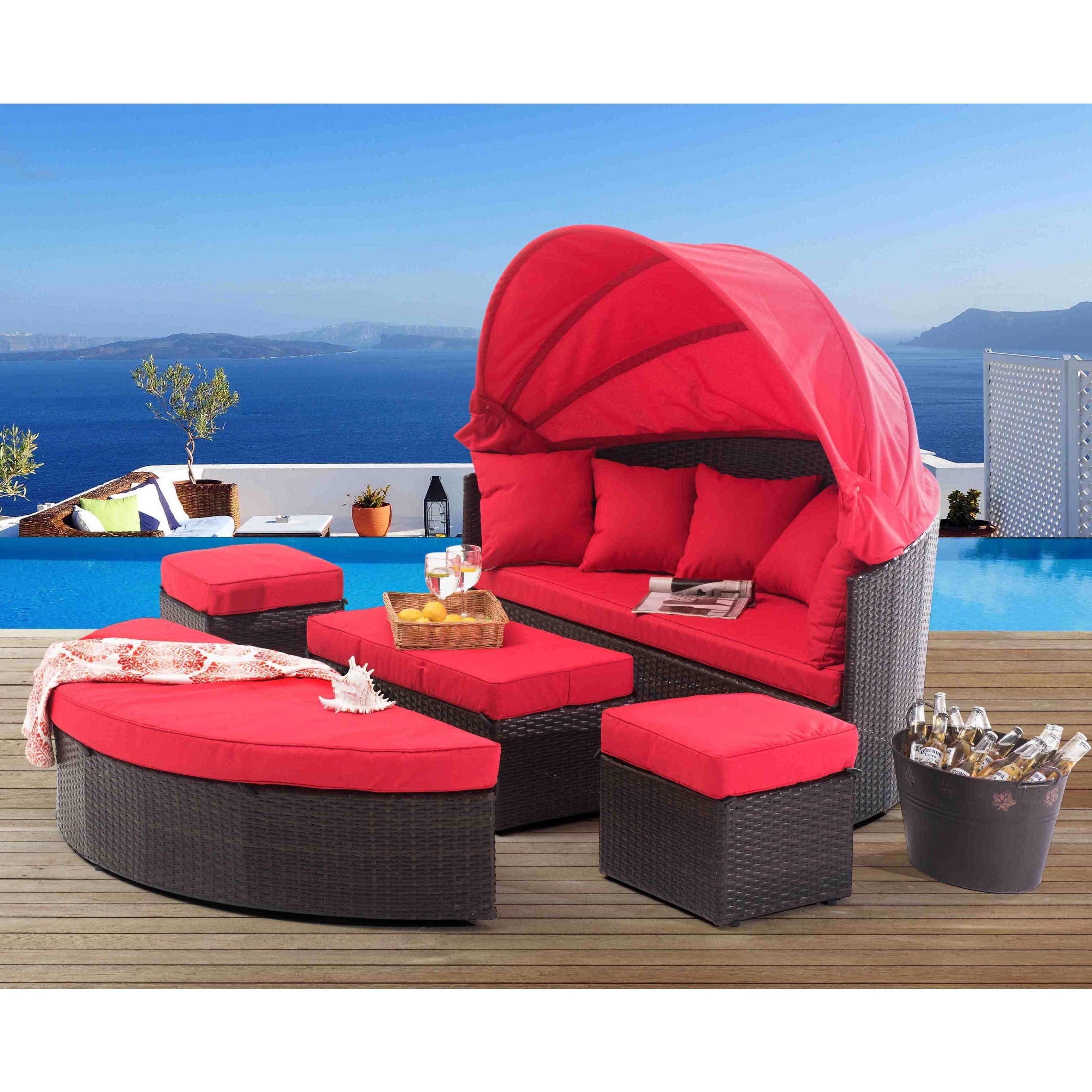 Sunjoy Marlee Modular Set, Patio Furniture