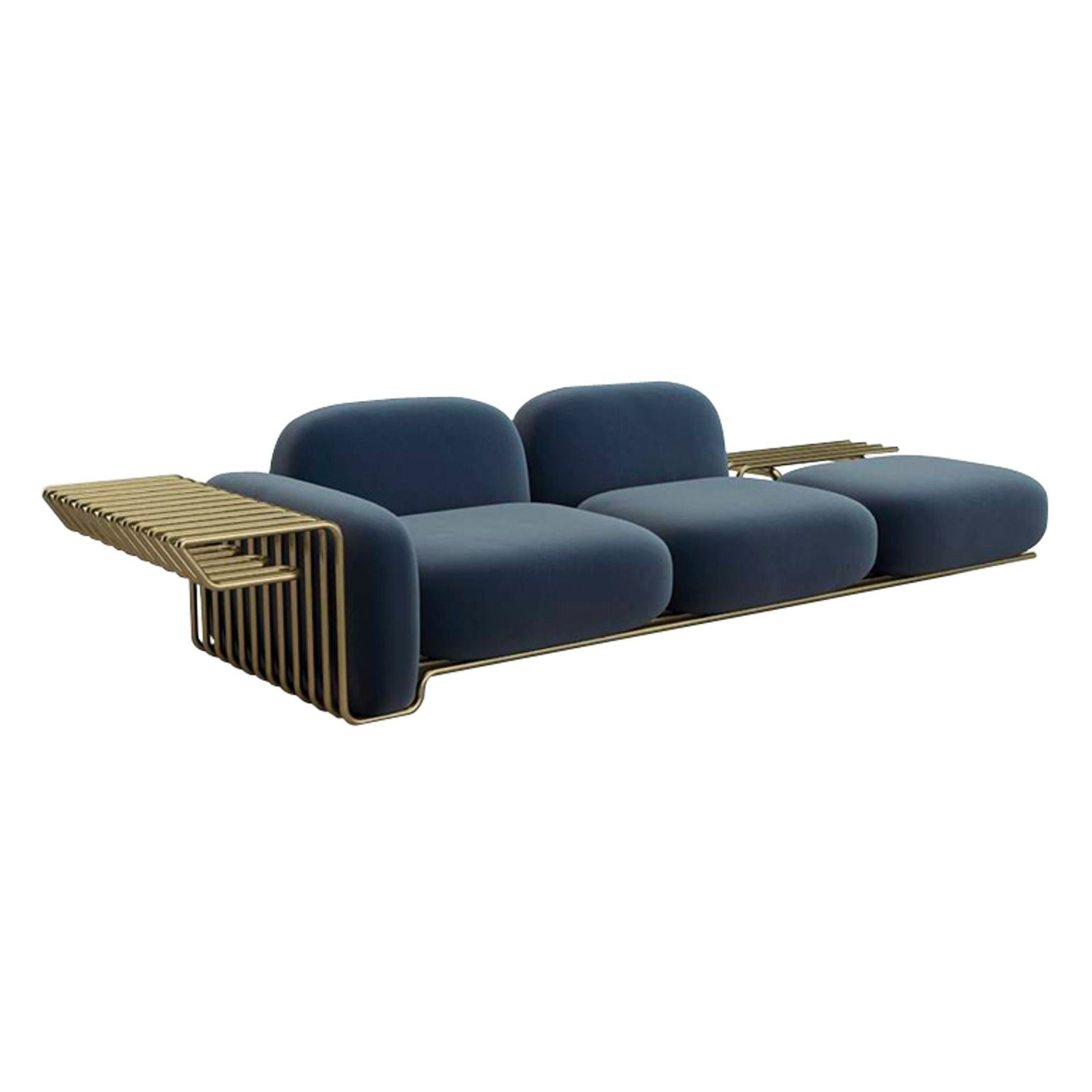 Pipeline La Sofa By Atleier Damis Contemporary Industrial