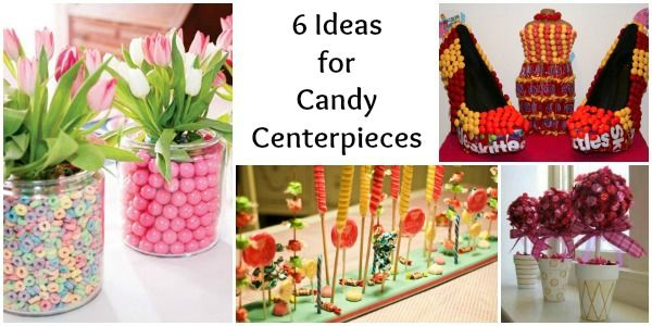 Cheap sweet centerpieces ideas for candy