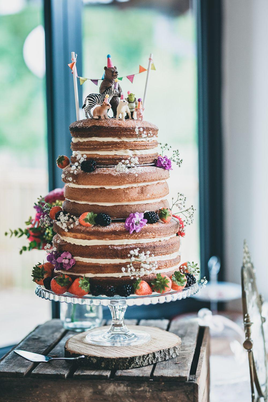 Rock Village Hall Wedding Super Colourful & Quirky DIY