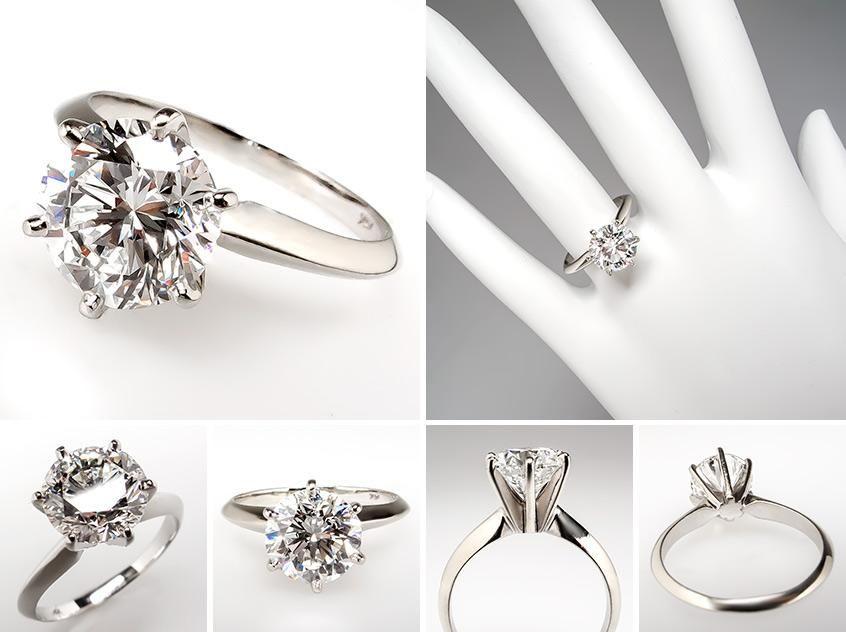 2 Carat Engagement Rings On Finger 31
