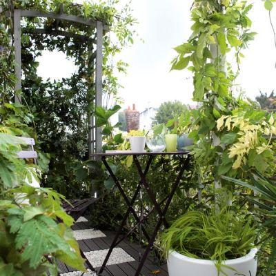 pergola en bois arc louise de leroy merlin balcony ideas. Black Bedroom Furniture Sets. Home Design Ideas