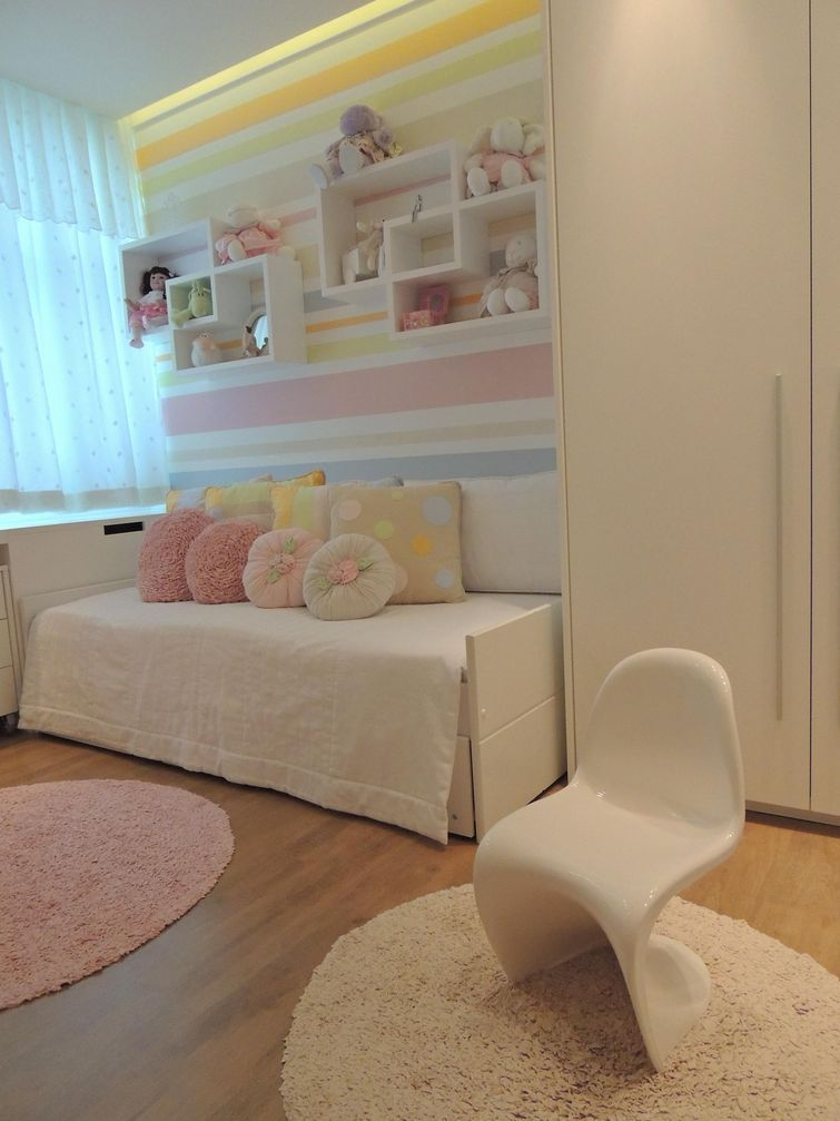 decoração de quarto infantil giovannabrigattivivadecora  Quartos Meninas