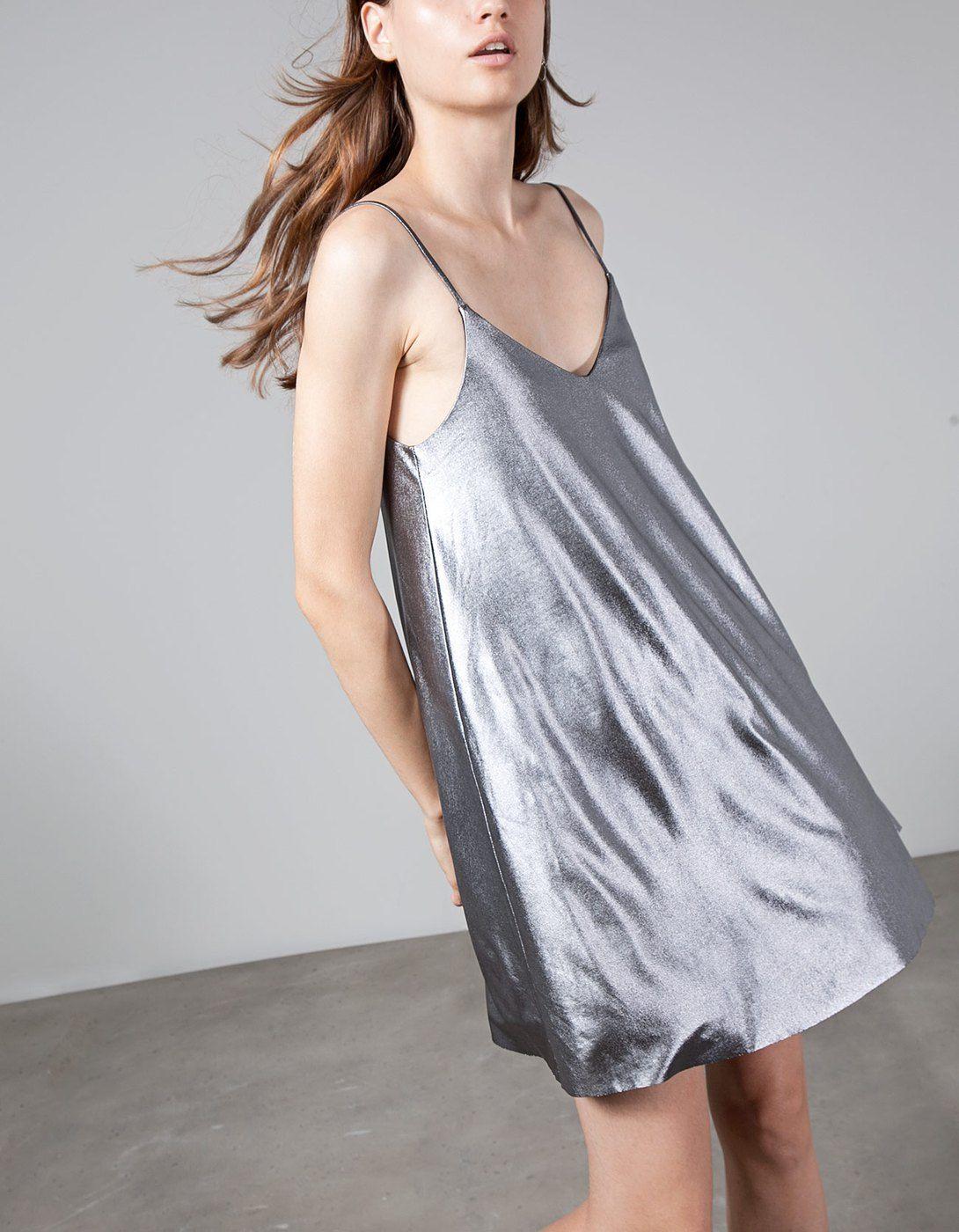 Vestido de alças foil | My style... | Pinterest | Vestiditos