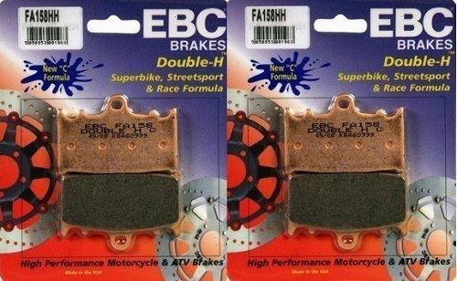 EBC HH Front Brake Pads (Set of 2) 2007-2009 Suzuki GSF1250S Bandit / FA158HH