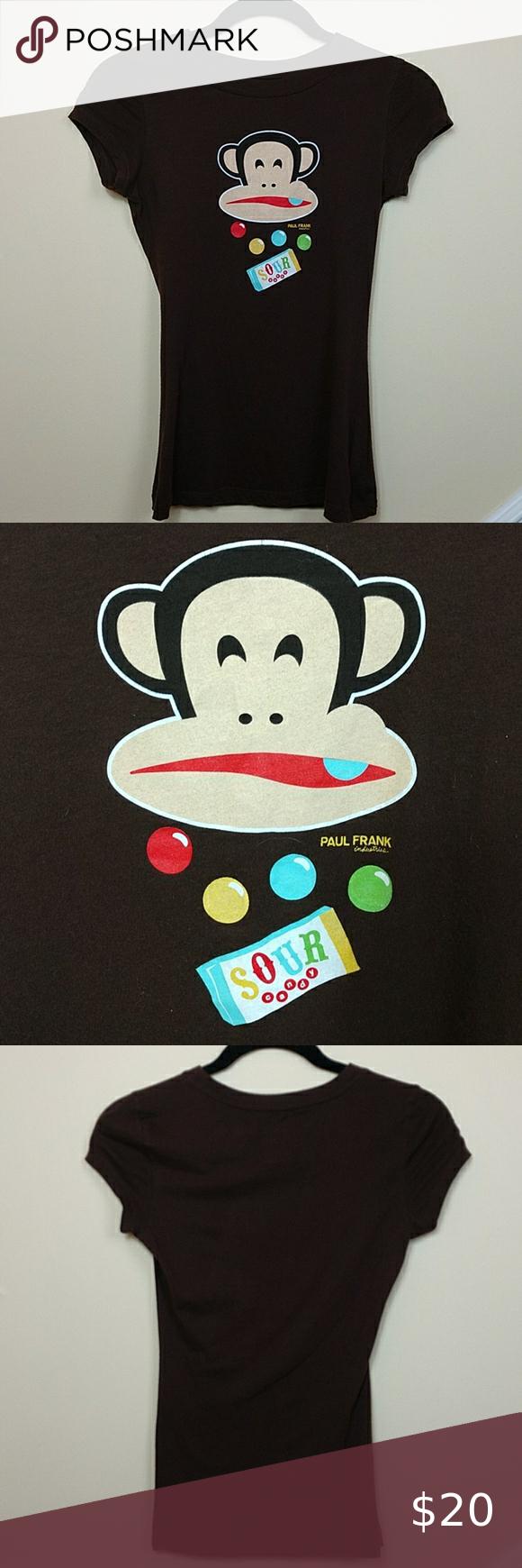 paul smith monkey on bike t shirt