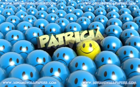 My Name 3d Wallpapers: The Name Patricia
