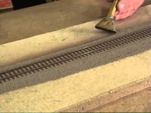 Ballast Kato Unitrack by Fifer Hobby Supply - YouTube | Trains