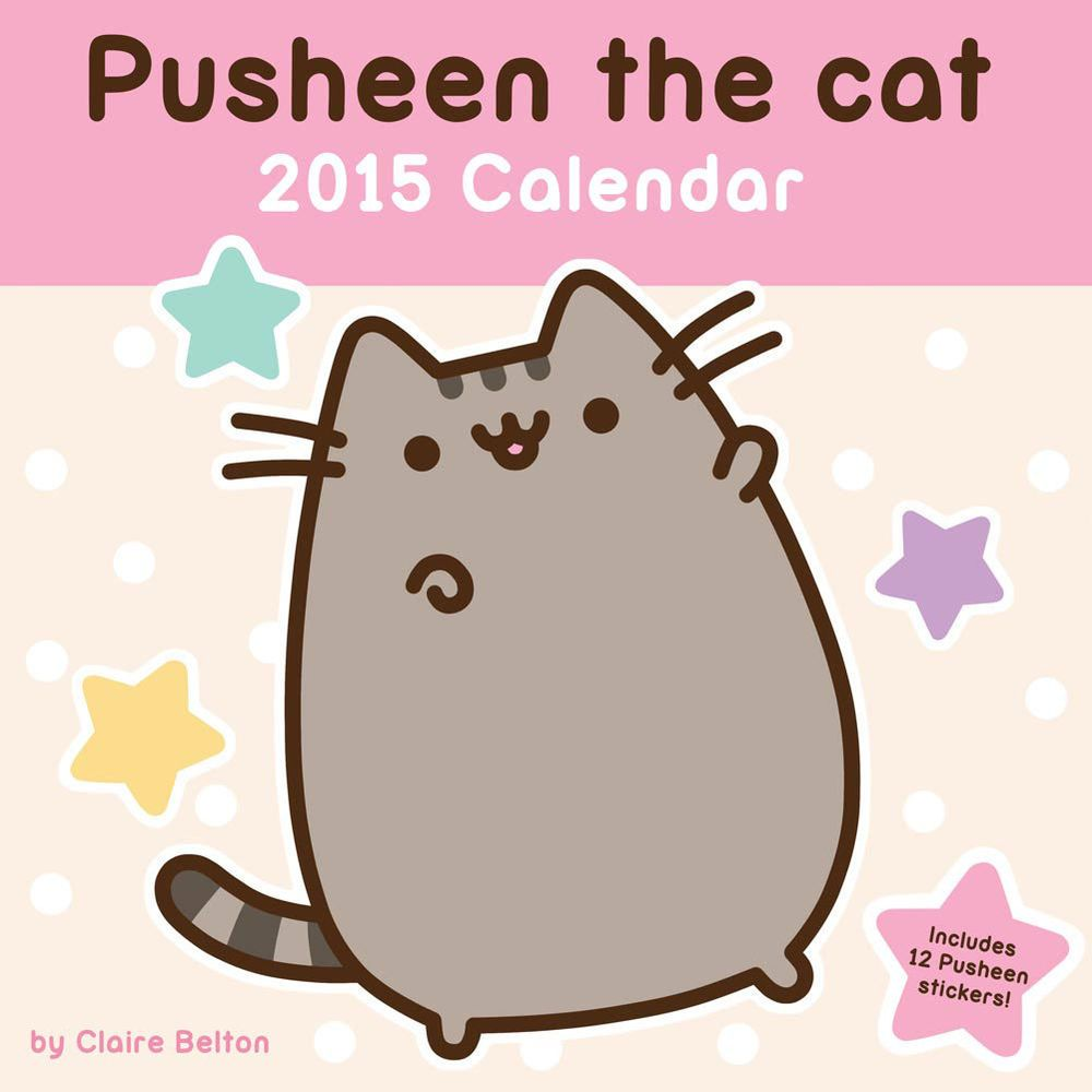 Pusheen The Cat Calender White And Black