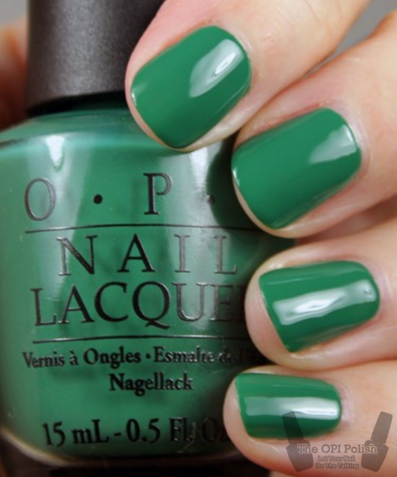 OPI] NL H45 Jade Is The new Black | Nail Ideas | Pinterest