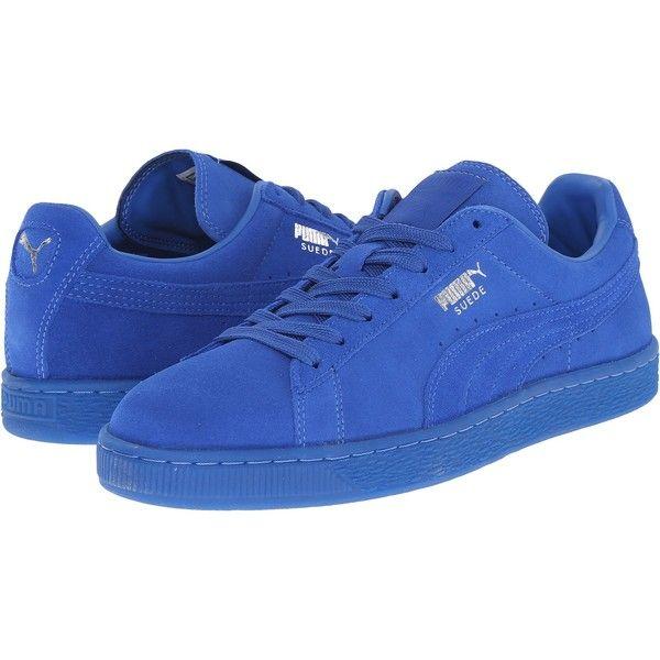 Mens blue suede shoes, Blue puma suede