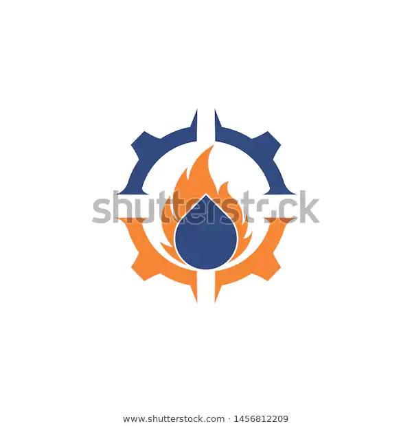 Fire Water Logo Design Stock Vector Royalty Free 1456812209 In 2020 Water Logo Logo Design Royalty Free